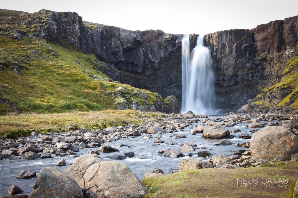 Cascada de Skogafoss. Foto de ©Neus Cañas.