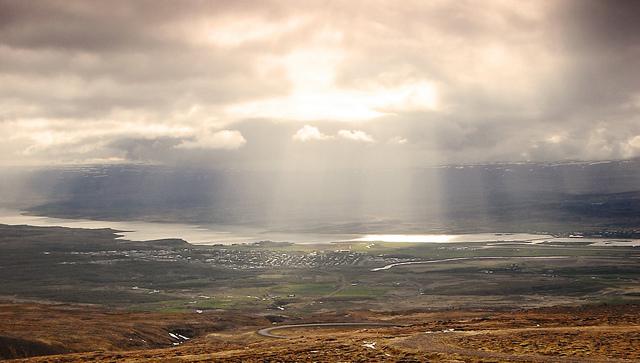Egilsstadir la puerta de los fiordos del este. Foto de Michał Sacharewicz.