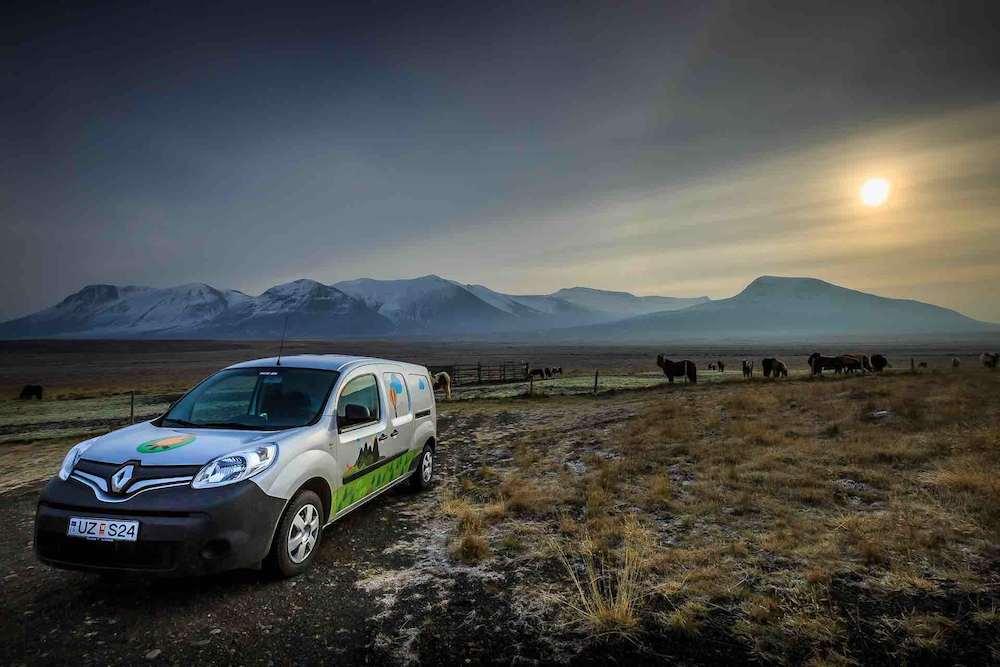 Islandia y su naturaleza al alcance de nuestro campervan.