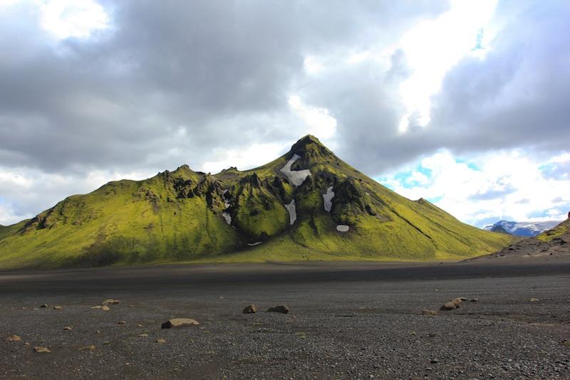 La variedad de paisajes y colores es increible en Islandia. Foto de