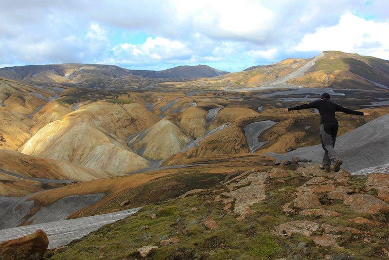 Trekking y senderismo en Islandia