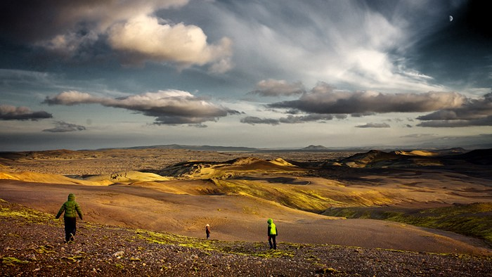 Viajando por la fisura de la tierra. El complejo vulcanológico de Laki. Foto de Snorri Gunnarsson.