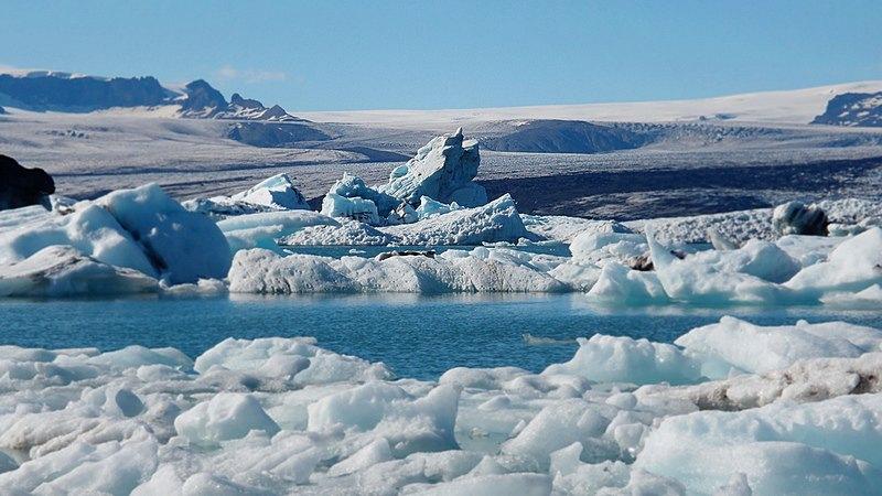 La laguna glaciar de Jokursalon, uno de los lugares más visitados del sur de Islandia. Foto de tadas2891.
