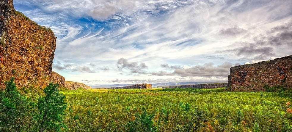 La ruta del Diamante: El norte islandés