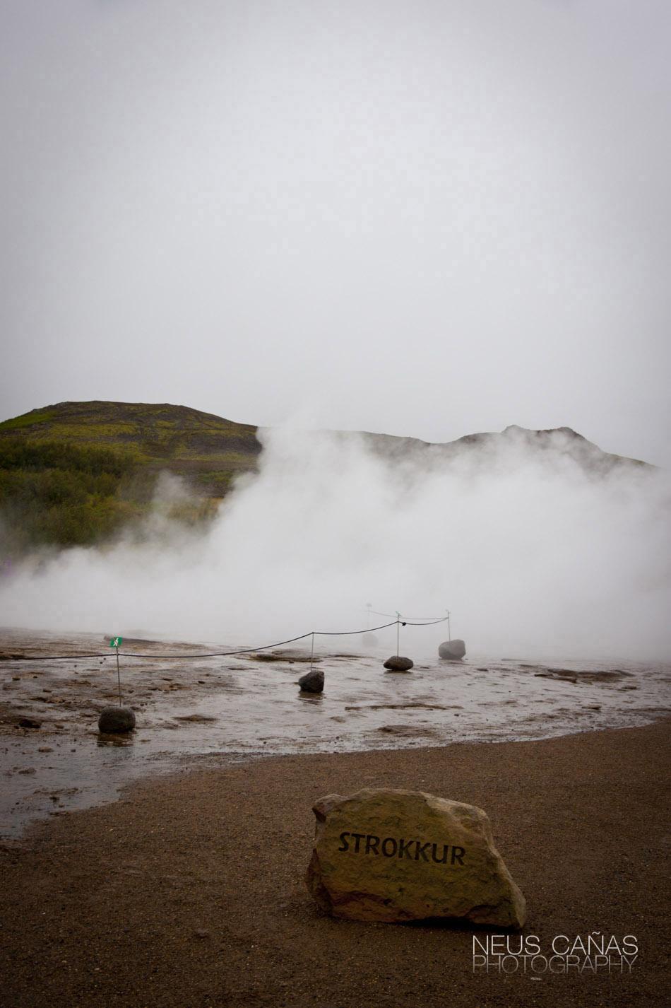Islandia se mueve y explota en sus Geysers cada minuto. ©Neus Cañas.