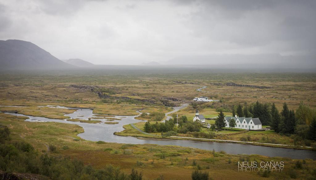 Una vista del valle y de las instalaciones del Parque. ©Neus Cañas.
