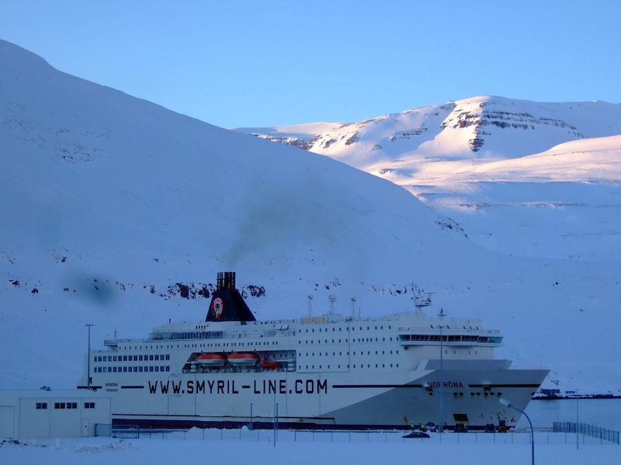 Ferries en Islandia