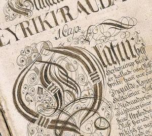 Página de las Sagas Islandesas.