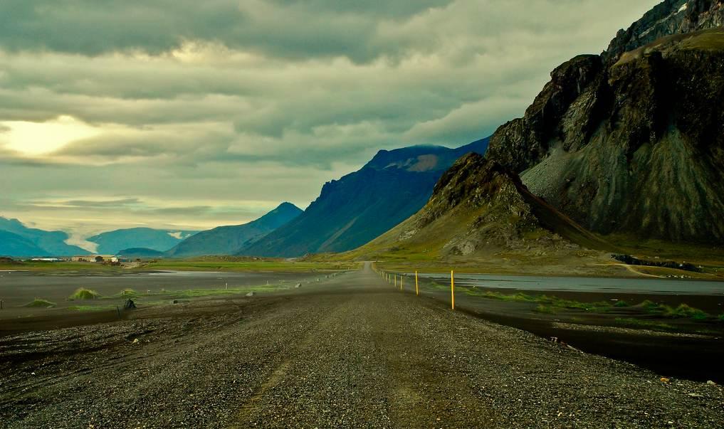 Una de las zonas más salvajes de la Ring Road. Foto de Mike St. Jean.