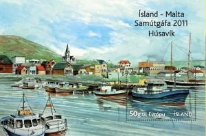 Precioso hoja bloc de Husavík. En Islandia los sellos son muy interesantes. Diríjanse a nuestra página de Filatelia.