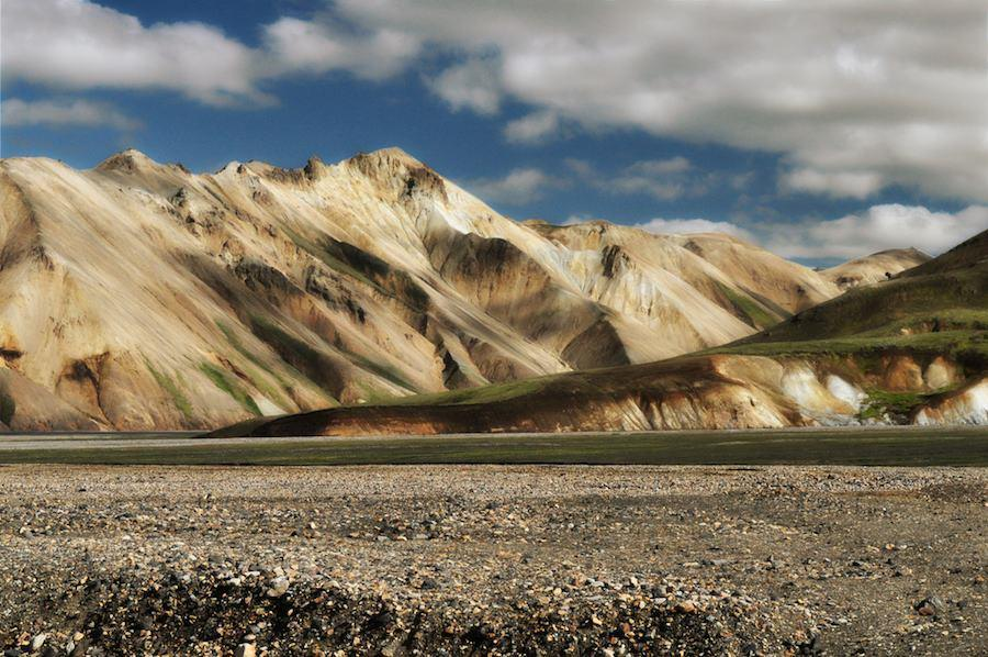 Landmannalaugar, Ruta de Trekking