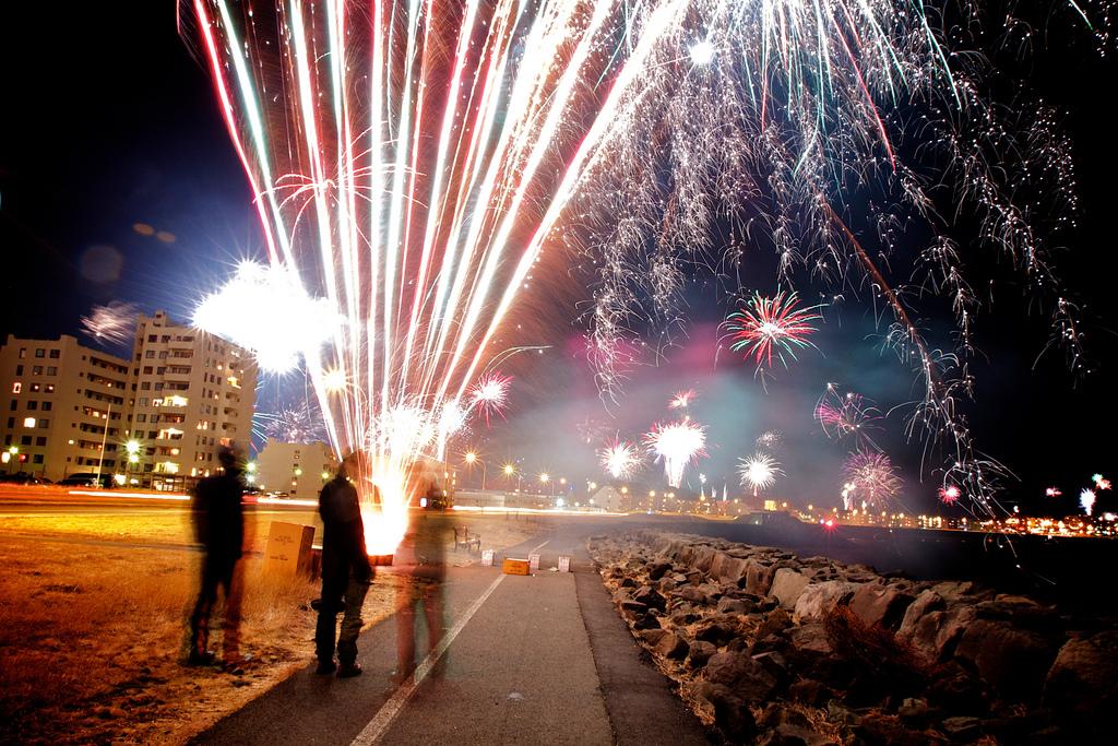 Año Nuevo en Islandia