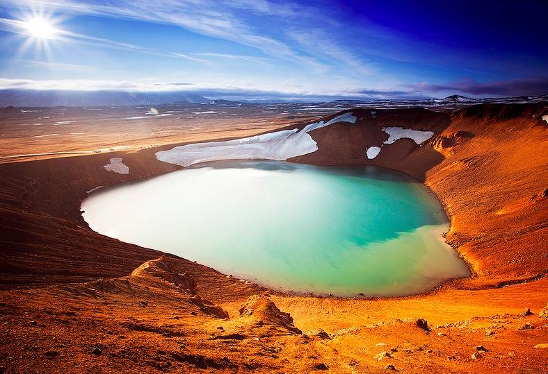 Lago de Viti en la Ruta del Diamante. Foto de Magnus Declerc.