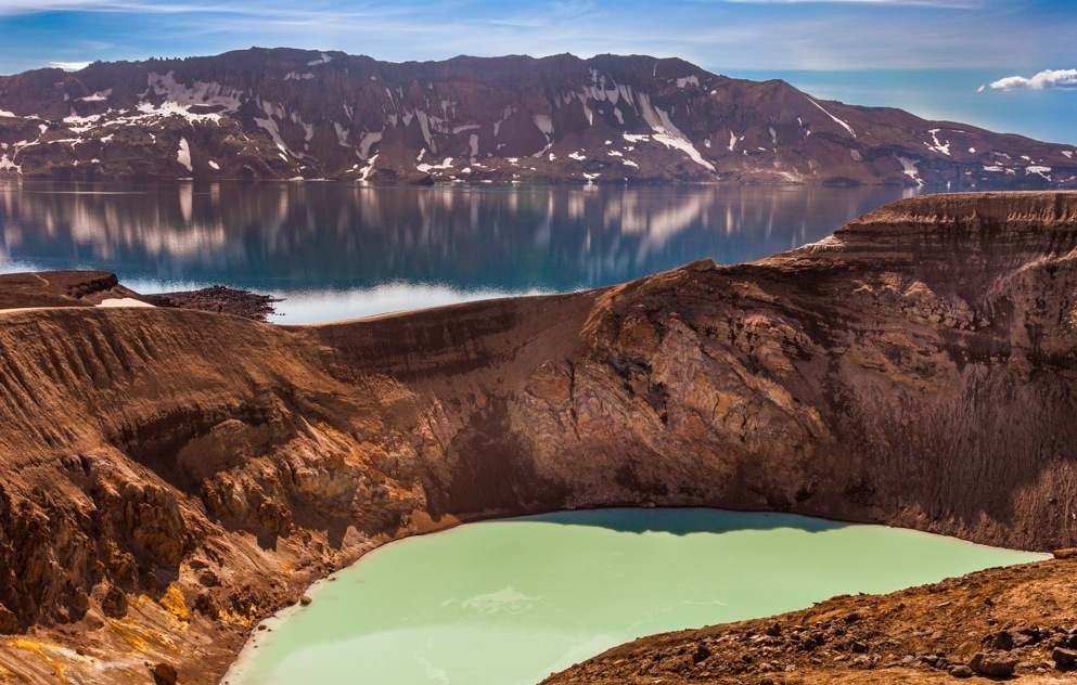 De nuevo es posible visitar la caldera del Askja y el cráter de Viti. Foto de LarStef.