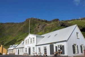 Oficina de turismo de Vik, al sur de Islandia.
