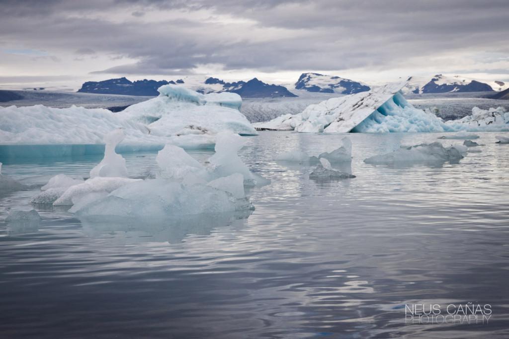 La laguna glaciar de Jokulsarlon en una preciosa foto de ©Neus Cañas.