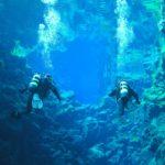 Submarinismo en la Falla de Silfra