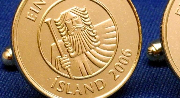 Corona islandesa, moneda de Islandia