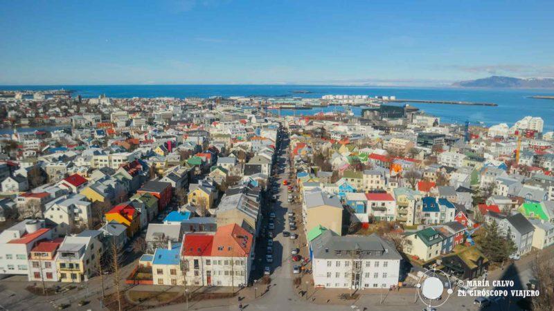 Reykjavík, capital de Islan